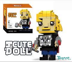 Bộ đồ chơi xếp hình Lego Thor - 14cm