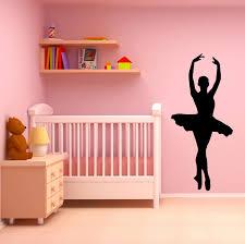 Ballerina Wall Decal Ballet Decor Wall Art Sticker Decals Market