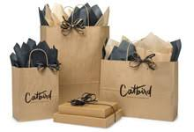 whole kraft paper ping bags