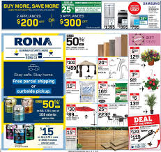 Rona Flyer May 07 2020 May 13 2020 Page 1 Canadian Flyers