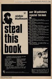 STEAL THIS BOOK by Abbie Hoffman (Grove ...
