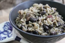 vegetarian cuban black beans and rice