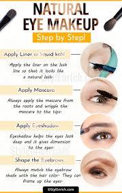 natural eye makeup tutorial step by