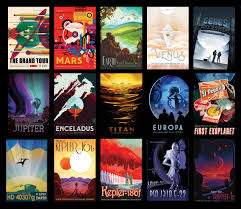 e tourism posters nasa solar