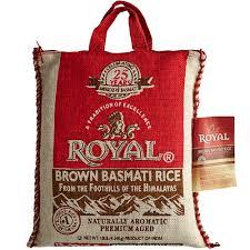 royal basmati brown rice 10 lb