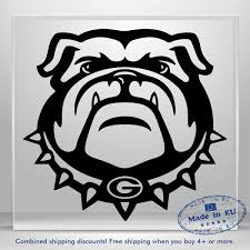 Bulldog Scary Decal Dog Auto Car Bumper Window Vinyl Sticker Laptop Bouledogue Ebay