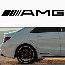 Amazon Com 2x Mercedes Amg 6 Vinyl Decal Sticker Buy 2 Get 3rd Free Automotive