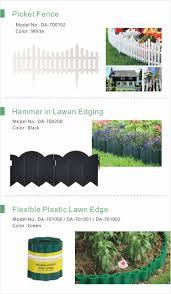Gardening Tool Gardening Equipment Picket Fence Hammer In Lawan Edging Flexible Plastic Lawn Edge Tudor Fence Flower Fence Garden Edging Aiermei Amazon Other Gardening Supplies Product Aiermei 艾爾鎂