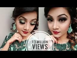 minty green eye makeup tutorial