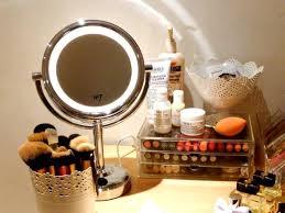 no7 illuminated make up mirror for