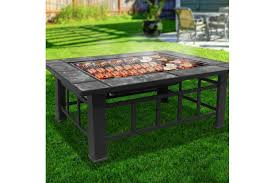smith outdoor fire pit bbq grill