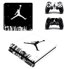 Air Jordan Ps4 Slim Skin Sticker Decal Vinyl For Playstation 4 Console And 2 Controllers Ps4 Slim Skin Sticker Consoleskins Co