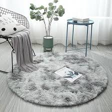 China Fluffy Round Rug Carpets For Living Room Decor Faux Fur Rugs Kids Room China Soft Mat And Absorbent Rug Price