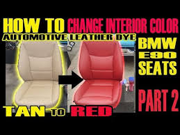 automotive leather dye