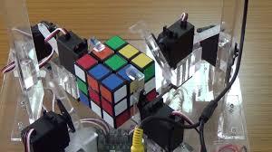 rubik s cube solver robot you