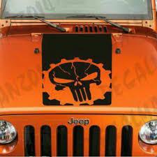 Jeep Wrangler Blackout Gear Punisher Vinyl Hood Depop
