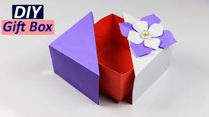 gift box how to make a unique diy gift