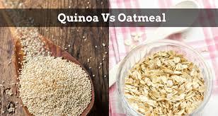 quinoa vs oatmeal parison of