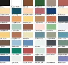 S G Bailey Paints Ltd Sadolin Superdec Colour Chart