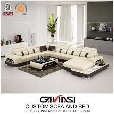 china durable leather latest sofa set
