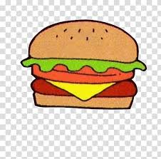 Cheeseburger Sticker Transparent Background Png Clipart Hiclipart