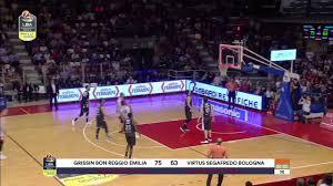 HIGHLIGHTS / Grissin Bon Reggio Emilia - Virtus Segafredo Bologna 104-99 -  YouTube