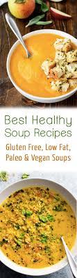 best healthy soup recipes gluten free
