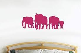 Nursery Elephants Vinyl Wall Art Sticker Decal Graphic Home Decor