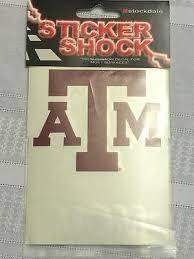 Texas A M Aggies University Mom Car Sticker Decals 4 X 4 5 New Ebay