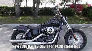 2016 harley davidson fxdb street bob