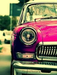 Pin by Adam Leyman on Old/New Cars | Retro cars, Red car, Pink car