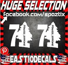7 3 Powerstroke Diesel Truck Sticker Decal Vinyl Diesel Funny Pair Ebay