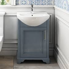 small bathroom cloak unit and basin