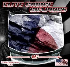 Texas Flag Rocks Vinyl Hood Wrap Bonnet Decal Sticker Graphic Etsy