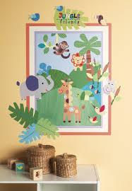 Zoomie Kids Jungle Friends Wall Decal Wayfair