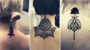 Tatuaz Na Karku 22 Ciekawe Wzory Piekne Czy Wprost Przeciwnie