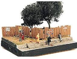 Amazon Com Ho Scale Fence Assorted Custom Fencing Toys Games