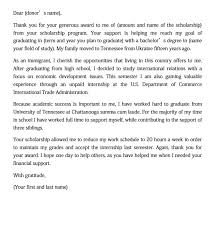 thank you letter sle for doc pdf
