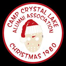 Christmas The 13th Circle Vinyl Decal Customizable