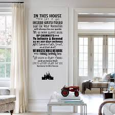 In This House We Let It Go Vinyl Quote Wall Decal Castle Art Decor Sticker For Living Room Sticker Decal Decoration Sticker Wallsticker Tile Aliexpress