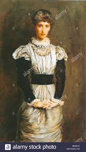 English: Portrait of Sophy Caird, nee Gray. Sister of Effie Gray. Painted  by Millais, 1880 . 17 October 2014, 15:17:30. 1133 Sophy Caird 1880 Stock  Photo - Alamy
