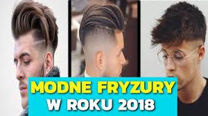 Modne Fryzury Meskie 2018 Wlosy Krotkie Srednie I Dlugie