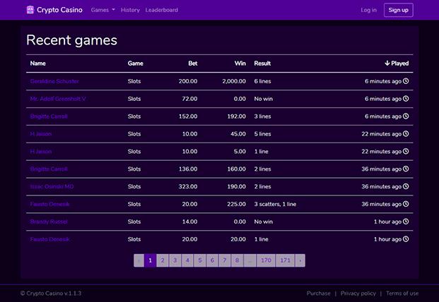 Hasil gambar untuk CRYPTO CASINO – ONLINE GAMBLING & CASINO PHP SCRIPT nulled