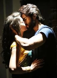 lip kiss with pooja jhaveri