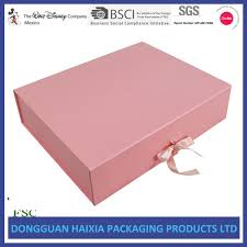 foldable gift box corrugated board