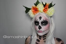 sugar skull makeup halloween makeup