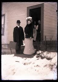 Archives of Childhood · Arthur and Ada Nelson, Wedding Day