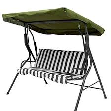 ddanke waterproof garden swing chair