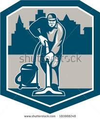 carpet cleaning logo vector