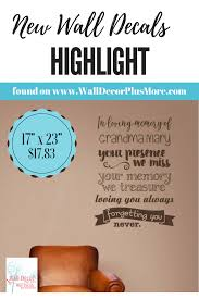 In Loving Memory Forgetting You Never Memorial Wall Decals Vinyl Stickers Remembrance Quote Personalized Family Wall Art Remembrance Quotes Wall Decals